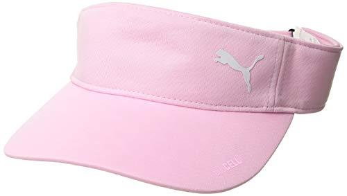 Sun Visor Mesh (Puma Golf2019 Women's Duocell Visor (One Size), Pale Pink)
