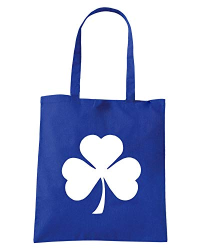 Royal Shopper Borsa SHAMROCK Blu TIR0179 g5prxq5dw