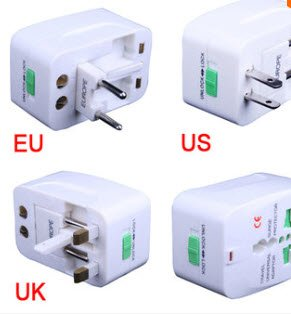 FVIEW Universal Travel Power Charger Adapter Plug AU UK EU US