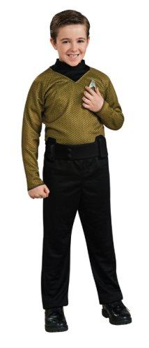 Dress Captain Action Costume Child