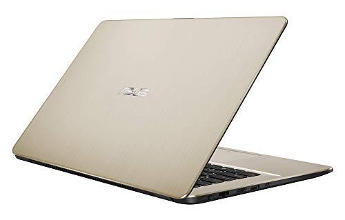 "ASUS VivoBook 15 R505ZA-BR675 - Portátil de 15.6"" HD (AMD Ryzen 5 2500U, 8 GB RAM, 256 GB SSD, AMD Radeon Vega 8, sin sistema operativo) Metal Oro - Teclado QWERTY Español 7"