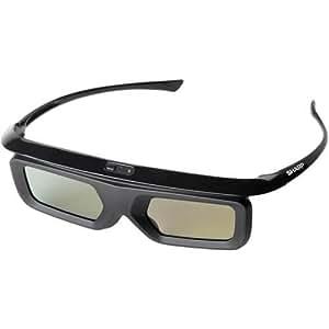 Sharp AQUOS AN3DG40 Active 3D Glasses (Black)