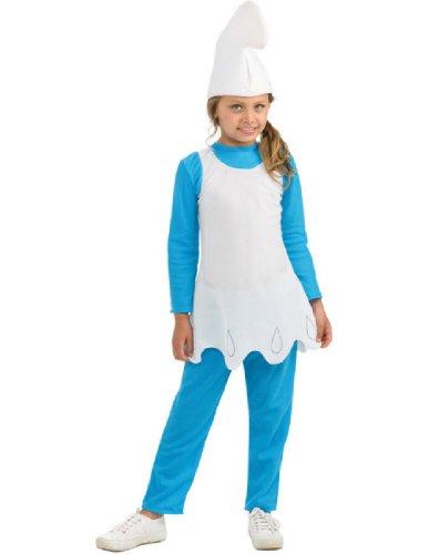 The Smurfs Movie Child's Costume, Smurfette (Girl Smurf)