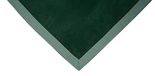 Sanders Classics Hunter Green Card (Bridge) Table Cover