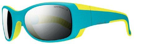 Julbo Kid's Booba Sunglasses,Spectron 4, Blue/Yellow, 4-6 - Category 5 Sunglasses