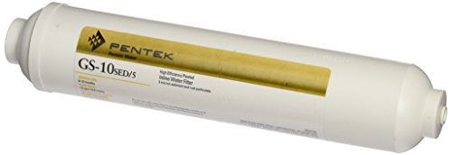 Pentek 255579-43 Inline Sediment Water Filter Replacement (Filter Line In Pentek)