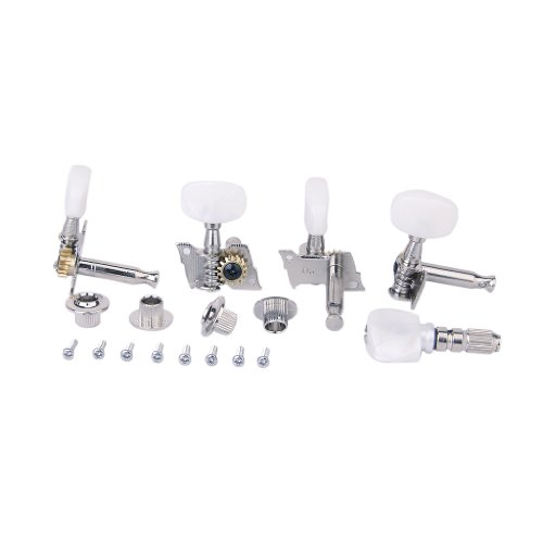 VStoy 5pcs/Set Banjo Machine Head Tuning Tuner Peg/Key with 4 Bushings