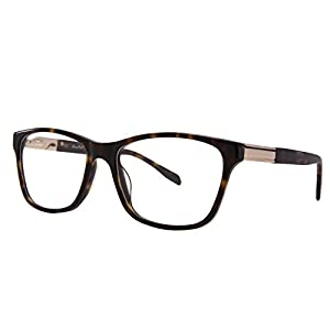 LIANSAN Womens Desinger Wayfarer Optical Frames Mens Non prescription Eyeglasses L7600 Leopard