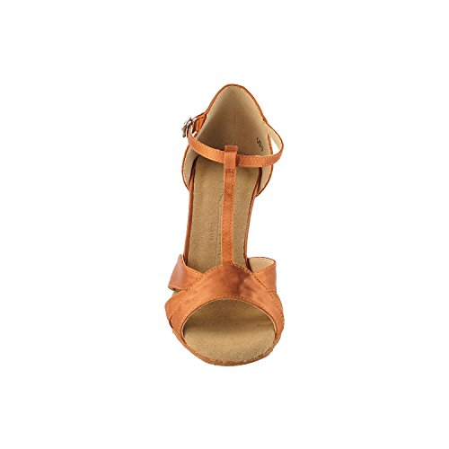 1144 Comfort Wedding Swing Art Dress For Heels Tan 3 Shoes Shoes Satin Shades Evening Salsa 5 50 50 Ballroom Shades 2 Dark Pumps Latin Tan Tango Of by Dance Theather amp; Uxa08wXpq