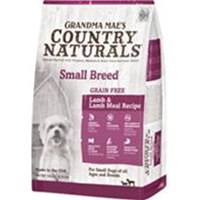Country Naturals Grandma Mae's Grain Free Single Protein Lamb Recipe for Small Breeds, 14 Pound Bag