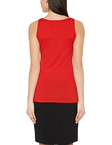 Marc Cain Essentials, Tank Top para Mujer Rot (scarlet 272)