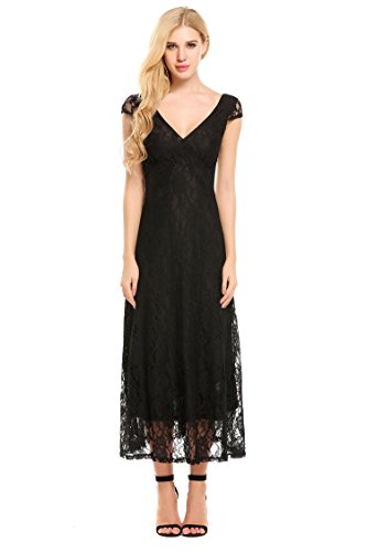 long black mother of the groom dresses - 6