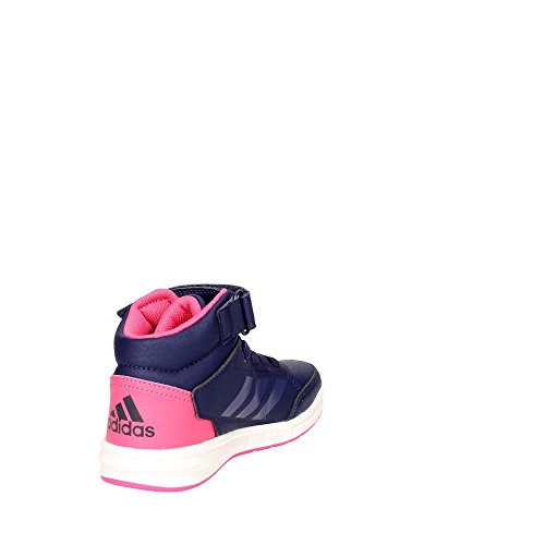 adidas Unisex-Kinder AltaSport Mid El K Turnschuhe Mehrfarbig (Tinnob / Pumeno / Supros)