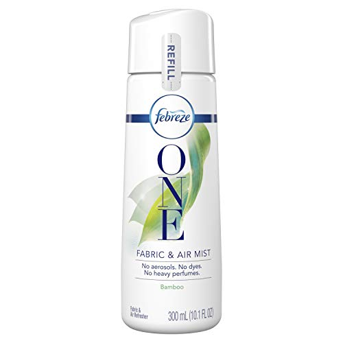 One Refill - Febreze One Fabric and Air Mist Refill, Bamboo Scent, 1 Count