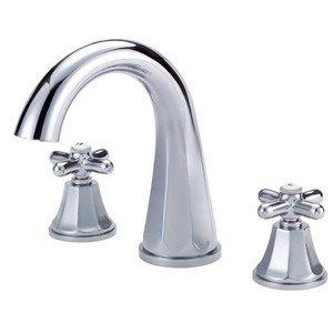 Danze D314666T Brandywood Two Handle Roman Tub Faucet Trim Kit, Valve Not Included, Chrome