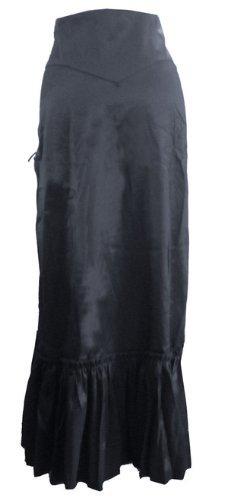 Wine Red - 3 Ways Frieda Long Sateen Corset Skirt - Size 8 by DangerousFX (Image #4)
