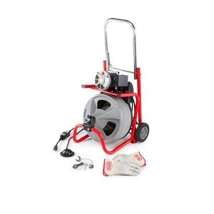 Ridgid, 52363, Drain Cleaning Machine, 1-1/2 in.to4 in. from Ridgid