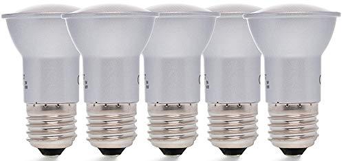 5 x Bombilla LED E27 Seta 5 W cálido blanco 3000 K 420Lumen 120 ° (equivalente a: 40 W) Bombilla LED Pera: Amazon.es: Iluminación