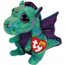 8127fe4af38 Image Unavailable. Image not available for. Color  TY Beanie Boos 18 quot   Cinder the Dragon ...
