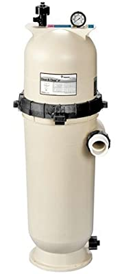 Pentair 160353 Clean & Clear RP Fiberglass Reinforced Polypropylene Tank Cartridge Pool Filter, 200 Square Feet, 150 GPM (Residential)