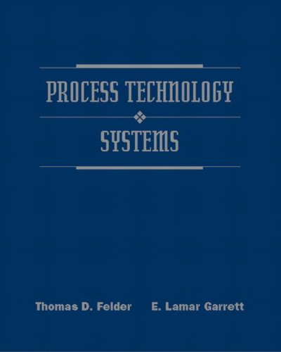 Process Technology Systems by Pearson