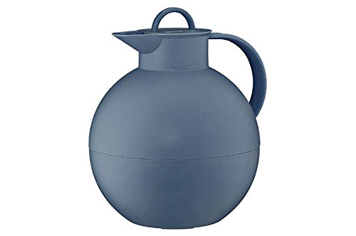 Alfi Vacuum Carafe Kugel, Coffee Pot, Screwing Stopper, Plastics, Vintage Indigo, 0.94l, 0105060094 ()