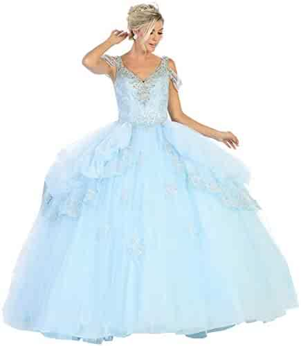 f91607b24b Formal Dress Shops Inc FDS116 Exquisite Off The Shoulder Ball Gown