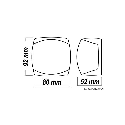 INOX 135/° poupe OSCULATI Feux de Navigation LED Sphera
