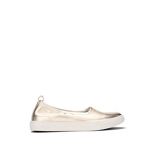 Kenneth Cole New York Womens Kam Ballet Flat Stretch Sneaker