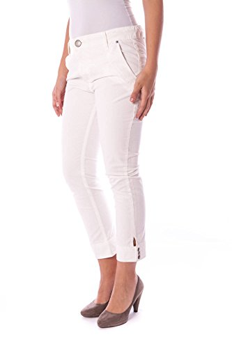 Flavia Pescatora 014 Colcci 01 00041 Pantalone Donna Bianco pw1Hzq