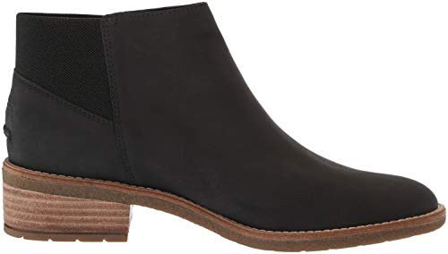 Black Leather Maya Boot Top Sperry Lani Women's Ankle Sider 10q8wqT