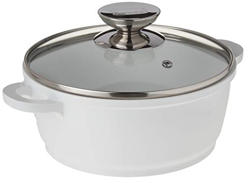 Vario Click Round Dutch Oven Size: 2.5-qt., Color: White ()