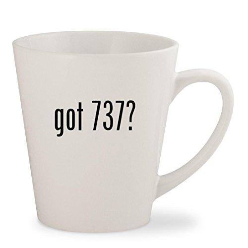 got 737? - White 12oz Ceramic Latte Mug Cup