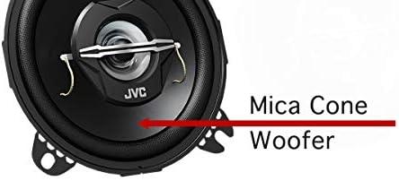 Jvc Cs J420x 10 Cm 2 Wege Koaxial Lautsprecher 2 Stück Elektronik