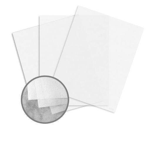 FIDELITY Onion Skin White Paper - 8 1 2 x 11 in 10 lb Bond Smooth 500 per Ream