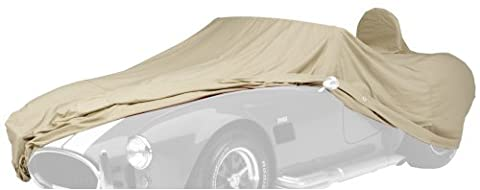 Covercraft Custom Fit Car Cover for Rolls Royce Silver Cloud (Tan Flannel Fabric, Tan) - Covercraft Universal Cab Cover