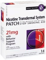 Habitrol Nicotine Transdermal System Step 1, 21mg Stop Smoking Aid Patch - 7 ()