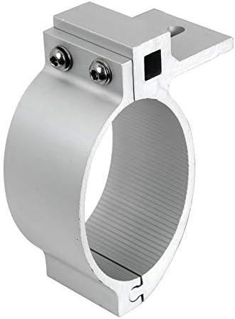 1 collier de serrage universel OVALE en acier inoxydable de 89 mm de diam/ètre pour arceau avant avec barre ovale