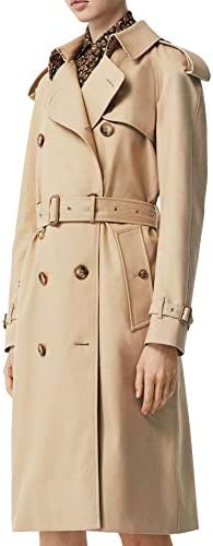 Burberry Luxury Fashion Donna 8024435 Beige Cotone Trench   Primavera-Estate 20