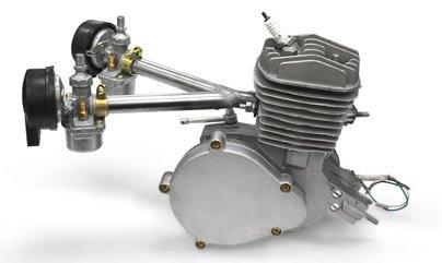 30 mm Dual Air Intake Pipe 80CC Gas Motorized Bicycle