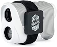 Blue Tees Golf Series 2 Laser Rangefinder for Golf - Distance Finder, 800 Yards Range, 6X Magnification, Flag