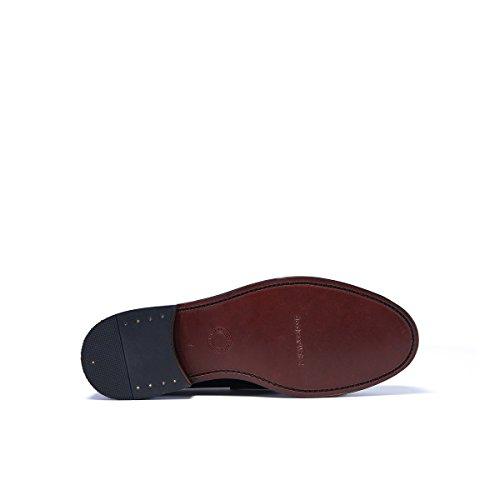 British Passport Oxford, Chaussures de Ville à Lacets Pour Homme Beige Taupe