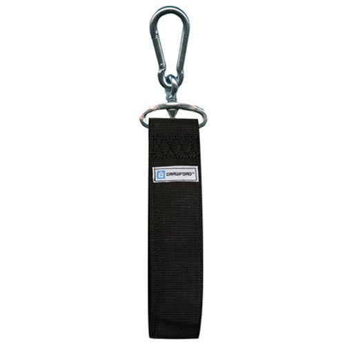 36'', Black, Storage Strap, Handles 200 LB Safe Working Load, Heavy Duty Zinc Plated Spring Link Attaches Easily, Great For Storing Power Tools, Sporting Goods, Lumber, Conduit & More.