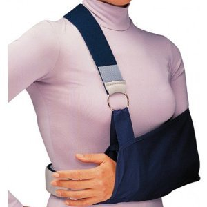 Procare Tennis Elbow - Procare Shoulder Immobilizer with Foam Straps Arm Sling (Large)