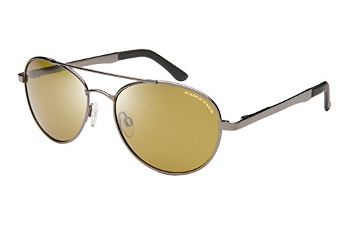 Eagle Eyes Explorer Aviator - Aviator Gold Rimmed Sunglasses