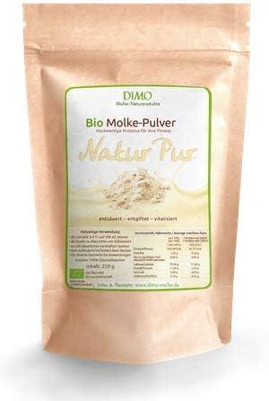 BIO Molke Pulver Natur- 250 g - BIO Trinkmolke Natur mit Inulin