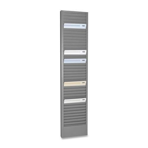 MMF20601 - MMF Horizontal Swipe Card Rack