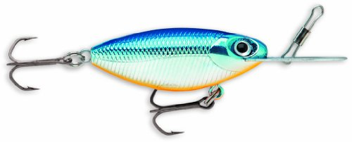 Storm Hot 'N Tot MadFlash 07 Fishing Lure, Blue Chrome Orange