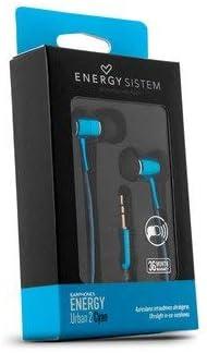 Energy Sistem Earphones Urban 3 Coral Mic Auriculares, In-Ear, Mic, Control Talk, Lightweight, Neodymium Magnet