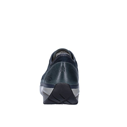 MBT Sneakers Hombre Textil Cuero (42 EU, Azul/Gris)